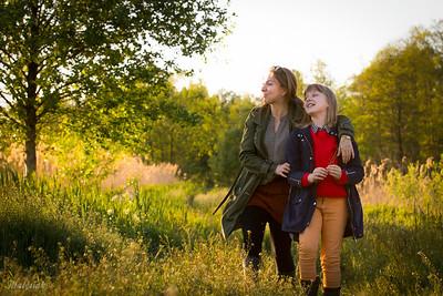 Sylwia i Anastazja sesja Matka i Córka ©Agata Katafiasz-Matysiak