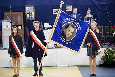 Uroczystość nadania imienia Jana Adama Maklakiewicza Szkole Podstawowej w Mszczonowie ©Agata Katafiasz-Matysiak