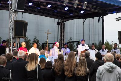 Historyczny odpust  Parafia św. Ojca Pio w Mszczonowie ©Agata Katafiasz-Matysiak