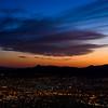 Sunset at Wyler Aerial Tramway, El Paso