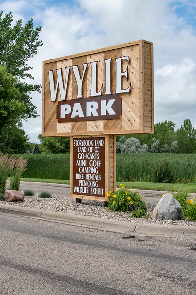 Wylie Park sign