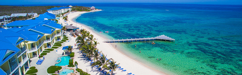 Aerial view of Wyndham Reef Resort Beaches, Pools, Tiki Bar & Snorkeling Reefs