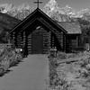 グランドティートンにある教会<br /> 海外の山には教会がつきもののようだ