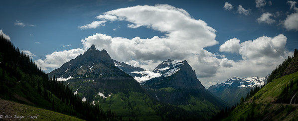 Logan Pass from Going to the Sun