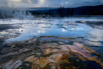 Reflections and Sinter Pools, Yellowstone