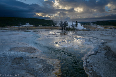Thermals and Clearing CLouds, Yellowstone