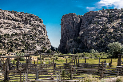 Devil's Gate - Oregon Trail - Wyoming -9880