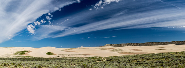Killpecker Sand Dunes - Rock Springs Area - Wyoming-