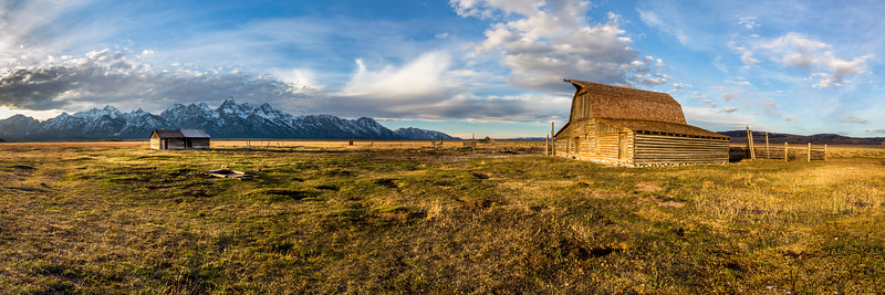 Barn in Grand Teton National Park