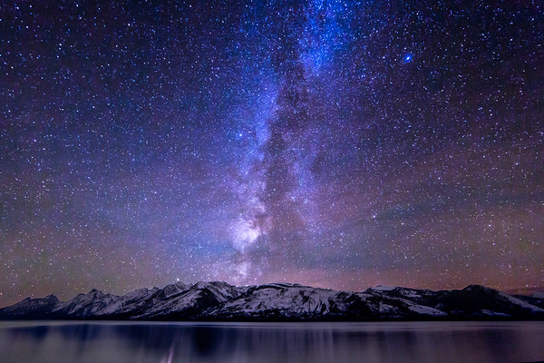 Stars over Tetons