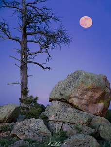 Vedauwoo Strawberry Moon June 2017