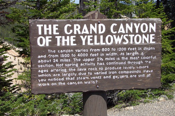 Grand Canyon of the Yellowstone - 6/24/2002