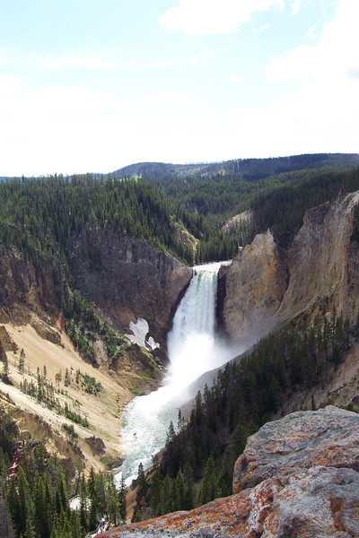 Lower Falls of the Yellowstone - 6/24/2002