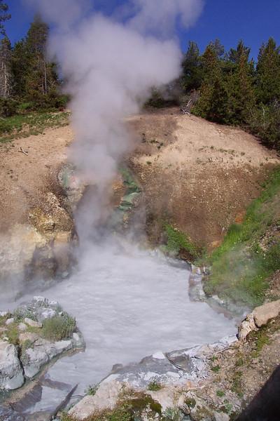 Mud Volcano - 6/24/2002