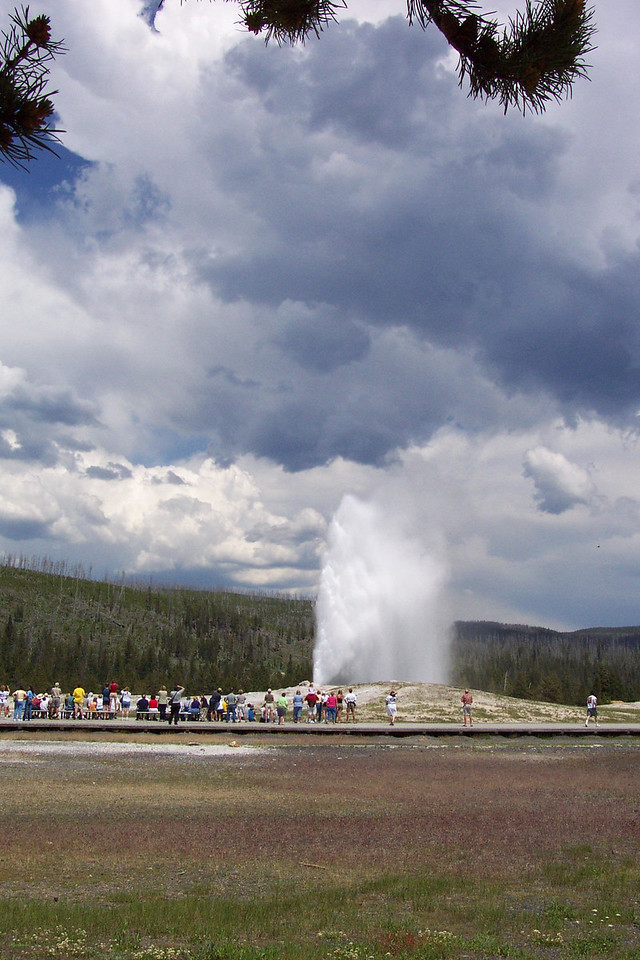 Old Faithful Area - 6/27 & 28/2002