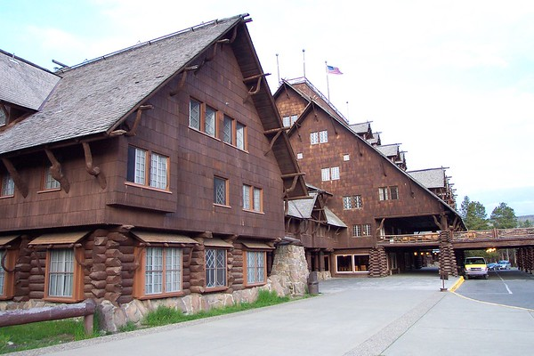 Old Faithful Inn - 6/27 & 28/2002