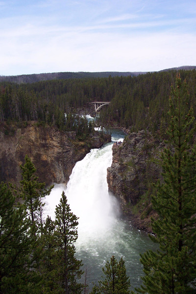 Upper Falls of the Yellowstone - 6/24/2002