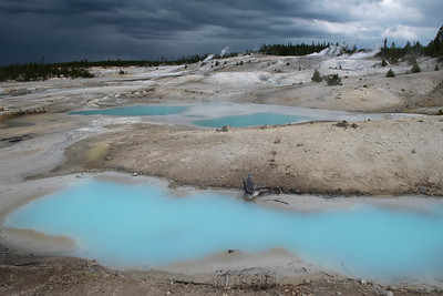 Blue Pools - Norris Geyser Basin