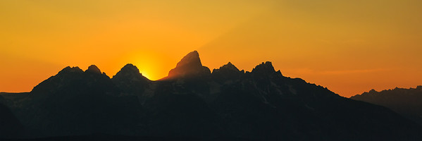 Smoke in Jackson Hole, Fire On The Tetons