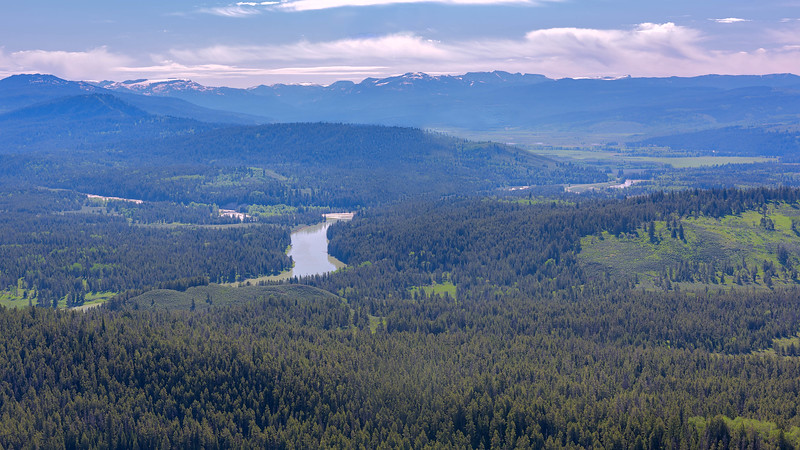 Snake River from Signal Mountain