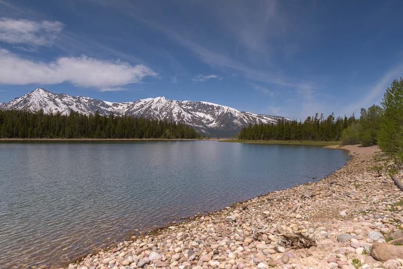 Rocky Shore of Jackson Lake
