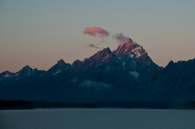 Tetons at first light