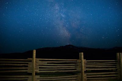 Lamar Buffalo Ranch about 3:50AM.  Milky way.