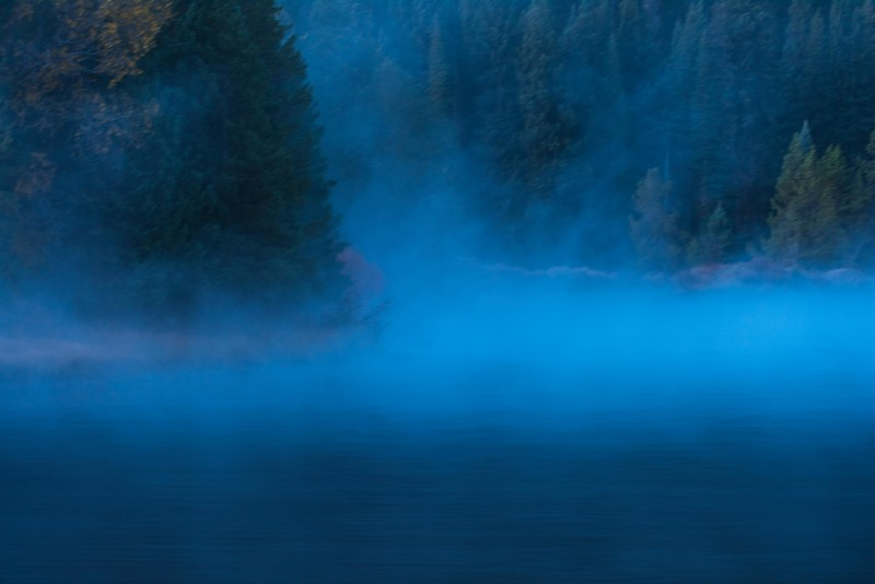 Morning Mist on the Snake River