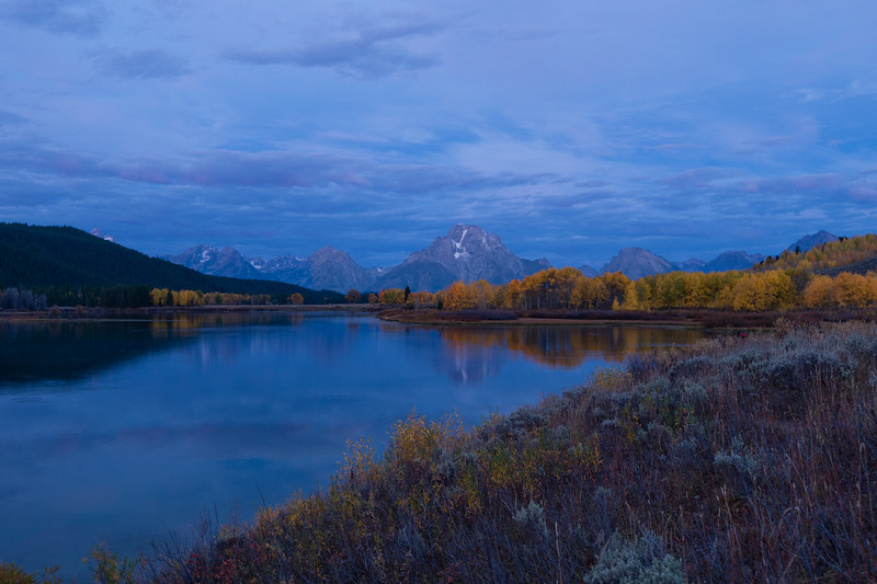 Oxbow Bend, Snake River. Grand Teton National Park, Wyoming