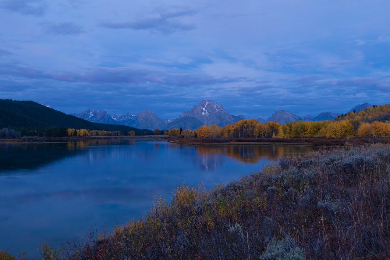 Oxbow Bend, Snake River. Grand Teton National Park, Wyoming