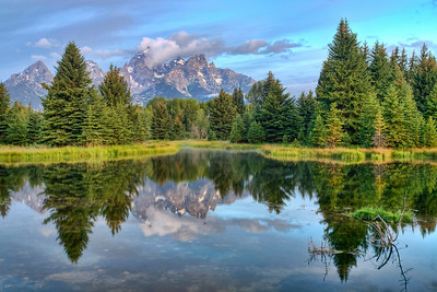 Before sunrise, Schwabacher Landing.
