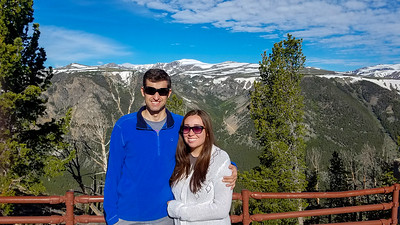 Ryan & Kari on the Beartooth highway.