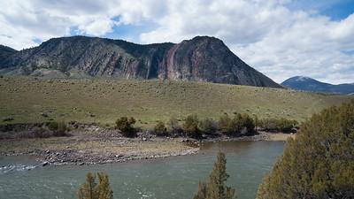 Devil's Slide just North of Gardner, Montana
