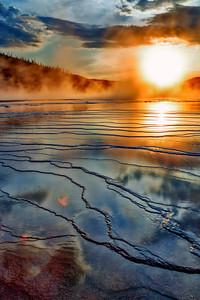 Grand Prismatic Sunset 1