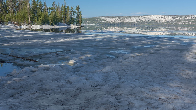 Icy Lewis Lake