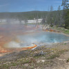 Hot Spring on Firehole Drive