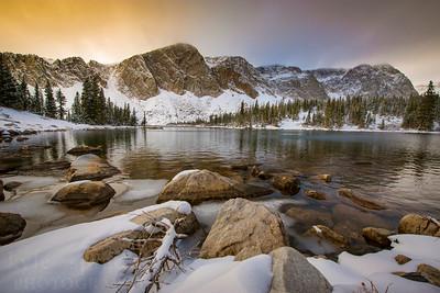 Lake Marie Snow