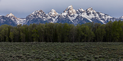 Early Spring Tetons