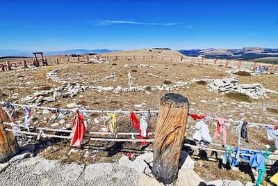 Medicine Wheel in the Bighorn Mountains in Wyoming