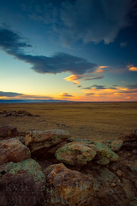 Located just outside of Laramie, Wyoming is a scenic view of Jelm and Sheep mountains and the surrounding Laramie Valley.   Photo by Kyle Spradley | © Kyle Spradley Photography | www.kspradleyphoto.com