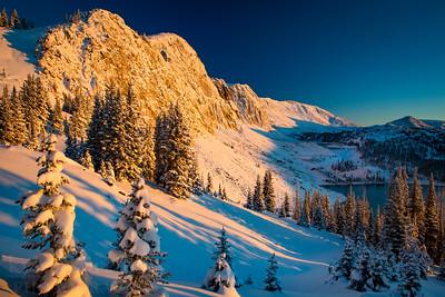 Med Bow Autumn Snow