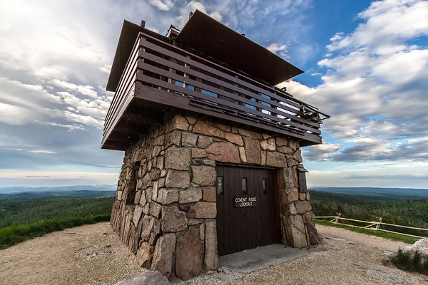 Cement Ridge fire lookout tower