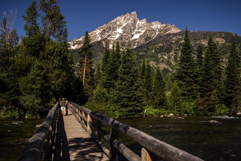 Jenny Lake Bridge Tetons National Park
