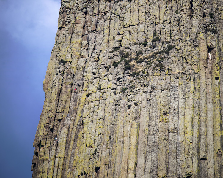 Climbing Devil's Tower