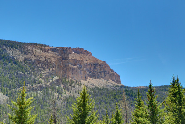 Arrow mountain in the Fitzpatrick Wilderness in Wyoming.