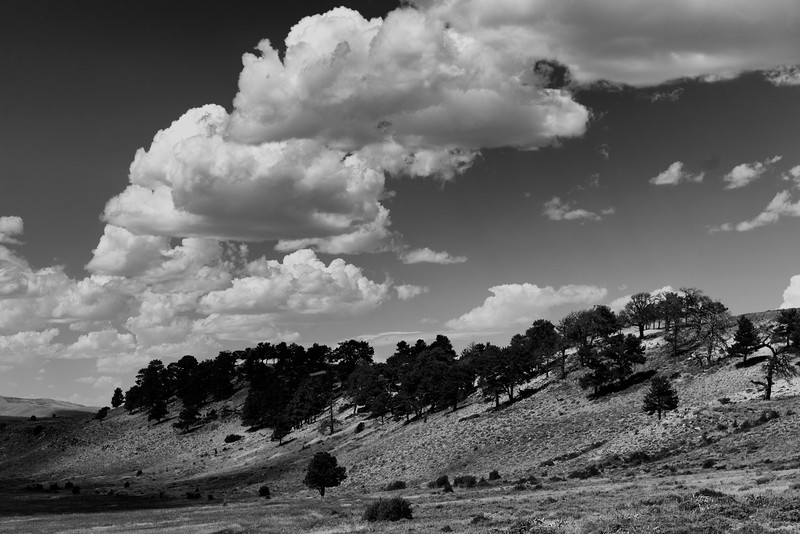 Clouds and Shadows, Wick/Beumee Wildlife Habitat Management Area, WY