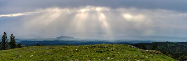 View from Cement Ridge, Wyoming