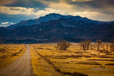The Road to Laramie Peak