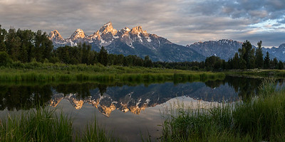 Mirrored Tetons
