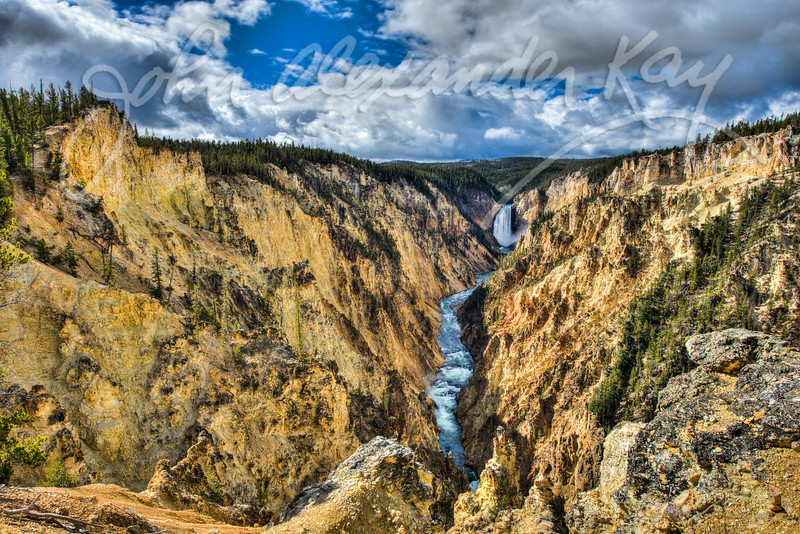 Lower Yellowstone Falls #2